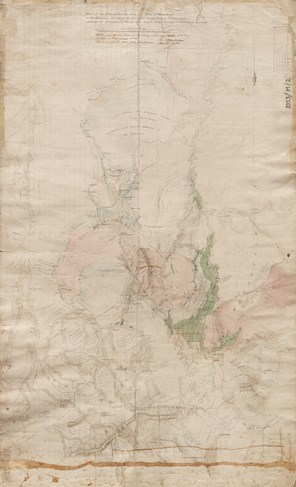 The General Survey Map of Central Victoria Map