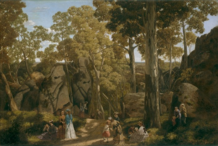 At the Hanging Rock 1875